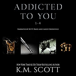 Addicted to You Box Set audiobook cover art