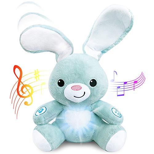 Stuffed Easter Bunny – Interactive BabyBibi Peekaboo Bunny