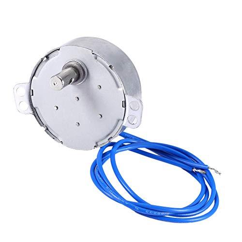 Motor síncrono - Motor de plato giratorio sincrónico Motor síncrono Volteador de tazas Cuptisserie Tumbler Cup Rotator Par grande 50 / 60Hz AC 100-127V 5-6RPM / MIN CCW / CW 4W