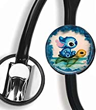 Guu - Stitch,Stethoscope Tag,Steth ID Tag,Nurse Doctor Stethoscope ID Tag