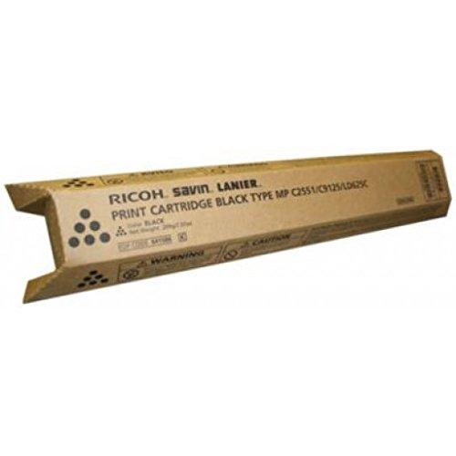 Ricoh 841586 MP C2051 C2551 LD620 625 C9120 C9125 Toner Cartridge (Black) in Retail Packaging