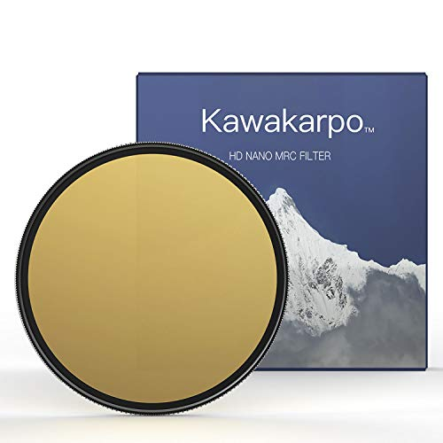 72mm 6-Stop Fixed ND64 Filter for Camera Lenses- Schott B270 Glass - Nano HD MRC16 Coating–True Color- Critically Sharpness- Professional Landscape Photography Neutral Density Filters by Kawakarpo