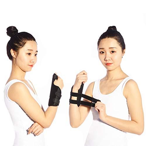 ZHHB Handgelenkstütze, Verstellbarer Karpaltunnel Universelle Handgelenkschiene Handgelenkstütze zur Linderung von Schmerzen bei Sehnenscheidenentzündung, Arthritis,S