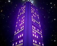 数字で描くアクリル絵の具の色原稿の建物夜のネオングローアート数字で描くDiyデジタル絵画現代アートオイルクリスマスの誕生日の家の装飾 カスタマイズ可能 40x50cm DIYフレーム