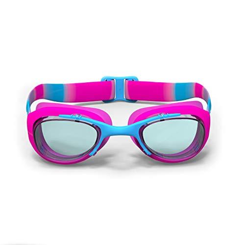 Nabaiji XBASE - Occhialini da nuoto, taglia S, colore: rosa e blu