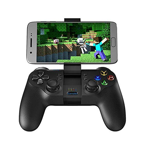 mando pc Controlador inalámbrico Bluetooth 2.4G , adecuado para teléfono Android / PC con Windows / Realidad virtual / TV box / para joystick Playstation 3 , adecuado para PC