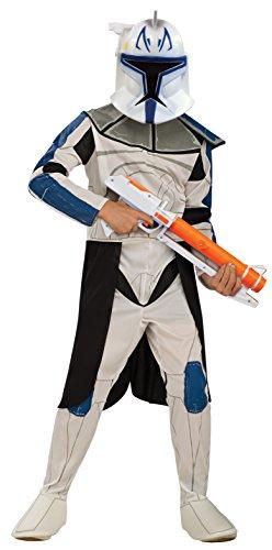 Rubie's 883200 Offizielles Disney Star Wars Clonetrooper Rex Kostüm, für Kinder, Größe M
