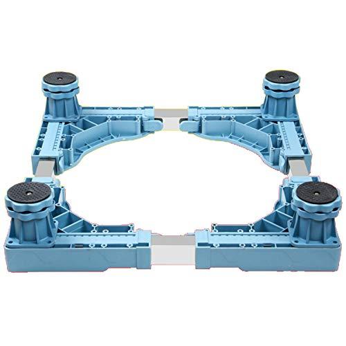 Mfntype standaard voor wasmachine, in hoogte verstelbare houder, stalen buis met twee lagen met 4 tot 12 verstelbare voeten, voor droger, koelkast voor wasmachine