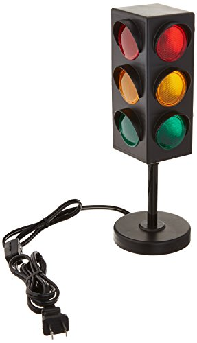 8' TRAFFIC LIGHT TABLE LAMP