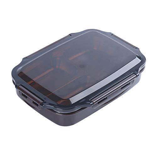 yylikehome Edelstahl-Brotdose-große Kapazitäts-Mikrowellen-Heizung tragbare Dinne-Nahrungsmittelbehälter für Picknick-Büro-Schulkaffee