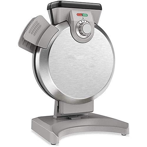 Wafleras Irons, Hogar Waffle máquina, Vertical Cake eléctrico Cafetera, Revestimiento antiadherente, el Mando de calefacción Indicador de diseño, gusto exclusivo con un solo toque (Color: Azul) 1125 (