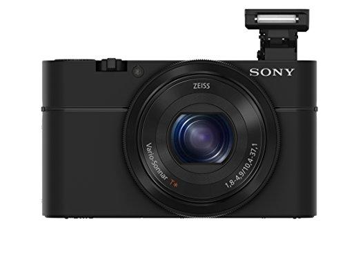 "Sony RX100 20.2 MP Premium Compact Digital Camera w/ 1-inch sensor, 28-100mm ZEISS zoom lens, 3"" LCD"
