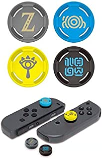 Silicone Analog Thumb Stick Grips Joystick Caps Thumbstick for Nintendo Switch NS JoyCon Controller Joy-Con Cover (Zelda)