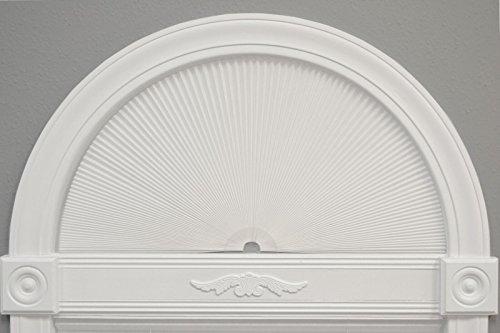Redi Shade 3361804 Original Arch Cellular Light Filtering Shade, 72 Inch x 36 Inch, White