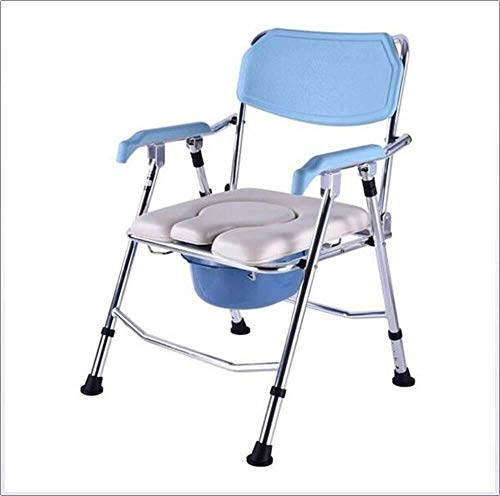 Bathroom Wheelchairs RRH Bedside Commodes Wheelchair Luxury Commode Chair, Adult Medical Assistance for The Elderly; Disabled Medical Chair can be Used Alone or with The Toilet