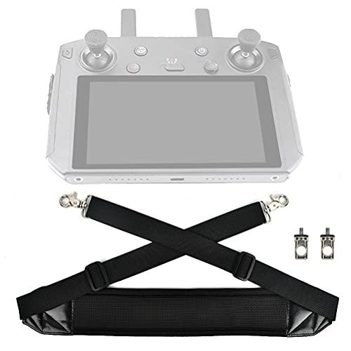 Drone Smart Controller Lanyard Sling Tracolla Tracolla in nylon intrecciato Cintura intrecciata per telecomando DJI Collo regolabile Cinturino intrecciato con vite in lega di alluminio CNC controller
