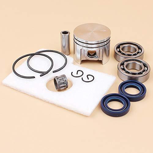 NOLOGO Kyt-mi Retén del cigüeñal del Motor de pistón cojinete de Aire Kit de Filtro for Stihl MS180 MS 180 018 Motosierra de Piezas de Repuesto de 38mm