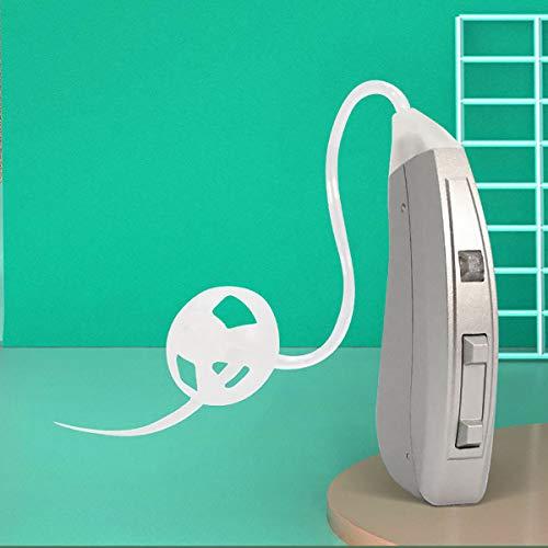 GAYBJ Amplificador de audición Digital Recargable con Nueva tecnología Digital. Los Mejores amplificadores de audición Que se Ajustan cómodos. Amplificador de Sonido Personal,Right Ear
