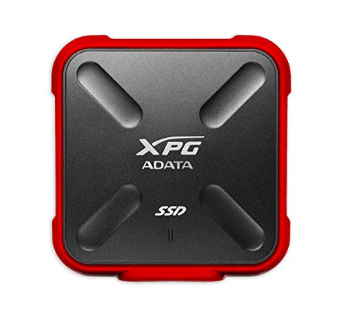 ADATA XPG External SSD SD700X 512GB USB 3.1 GEN 1 RED Retail (ASD700X-512GU3-CRD