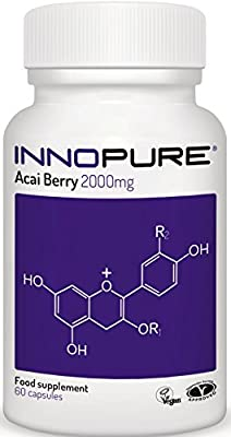 Acai Berry Extract 100% Pure - High Strength 4,000mg / Daily Dose - 1 Month Supply - Innopure®