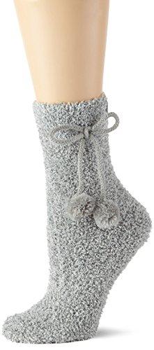 Elbeo Damen Anziehen-Wohlfuehlen Freizeitsocken, Grau (grau-melange 4206), 38 (Herstellergröße: 35-38)