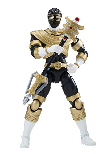 Power Ranger 6.5' Legacy Action Figure, Zeo Black