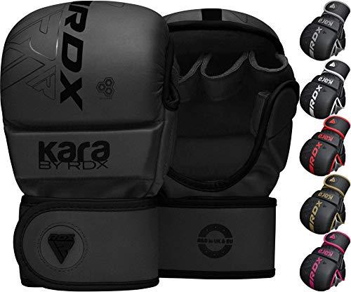 RDX Guantes MMA para Artes Marciales Grappling Entrenamiento