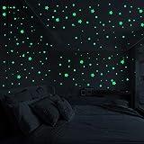 Zegeey 3D Sterne leuchten im Dunkeln leuchtende Fluoreszierende Wandaufkleber Kinder Schlafzimmer Home Dekore