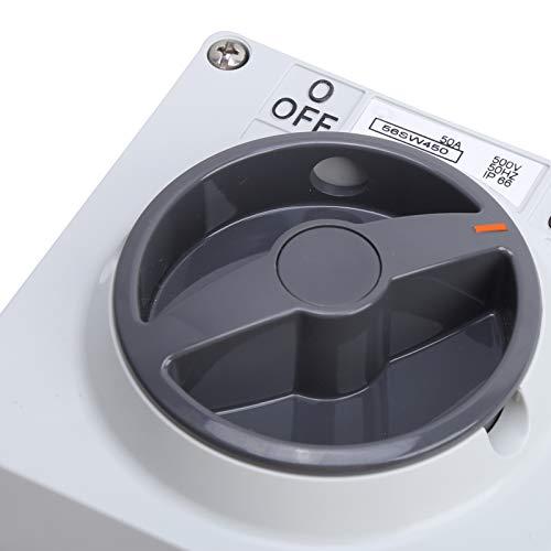 Interruttore antipolvere Interruttore a pulsante Interruttore di isolamento Pulsanti momentanei Indicatori per l'industria(4P50A, pink)