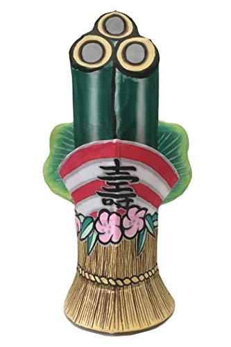 ねぶた師が作った お正月飾り 門松 青森ねぶた祭り(スタンドランプシェード 室内用)