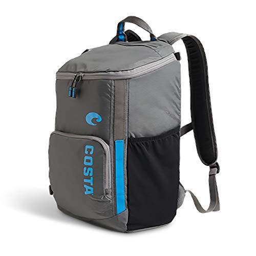 Costa Men's 20 Liter Backpack, Khaki/Black, One Size