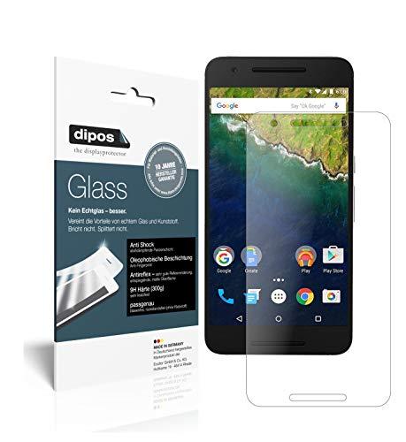 dipos I 2X Protector de Pantalla Mate Compatible con Google Nexus 6P...