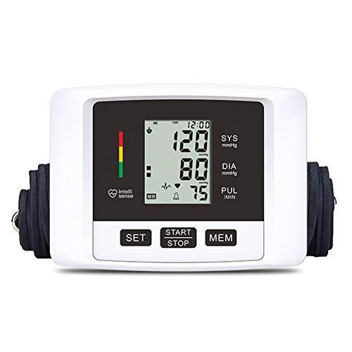 Rinnitt Blutdruckmessgerät Präzise Automatische Oberarm Bp Machine & Pulsfrequenz Überwachung Meter Mit Cuff 22-40Cm, LCD - Gerätetasche