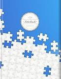Punktraster Notizbuch (Star, A4, 156 Seiten, Softcover) || Dickes Notizbuch mit Register + Robuster Einband || Bullet Journal, Handlettering, Skizzenbuch, Zeichenbuch, Tagebuch, 'Puzzle': Volume 6