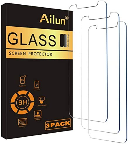 Ailun Glass Screen Protector Compatible for iPhone 12 pro Max 2020 6 7 Inch 3 Pack Tempered product image