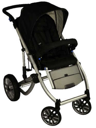 Bertini 5973 - Buggy X6 Trek & Gliding Seat, Farbe Blackberry