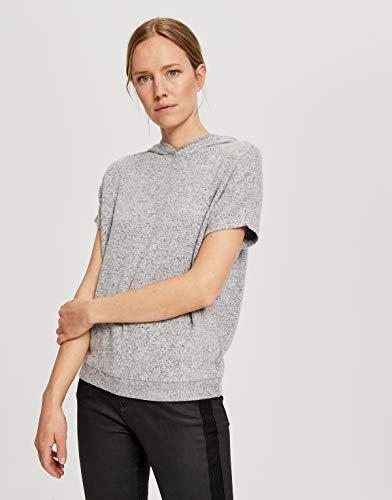 OPUS Damen Gubine Sweatshirt, Easy Grey, 40