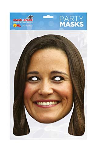 Masque en Carton Pippa Middleton - Taille Unique