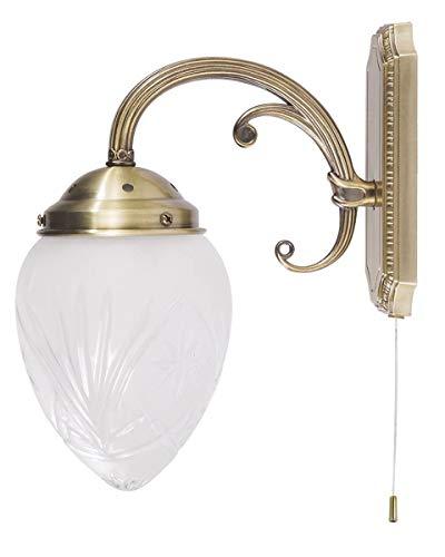 Rabalux 8631 edel jugendstil wandlamp Trinity wandlamp antiek messing
