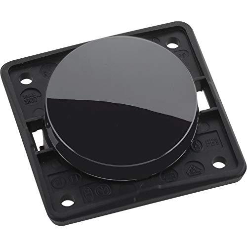 Berker 936562510 Integro Flow/Pure Wechselschalter schwarz glänzend