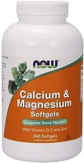 Now Foods Calcium & Magnesium With Vit D And Zinc - 240 Cápsulas