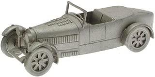 Danbury Mint authentic scale replica pewter car Bugatti Type 43 1928