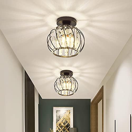 Moderna lámpara de techo de cristal de 12 W para pasillo, escaleras,...