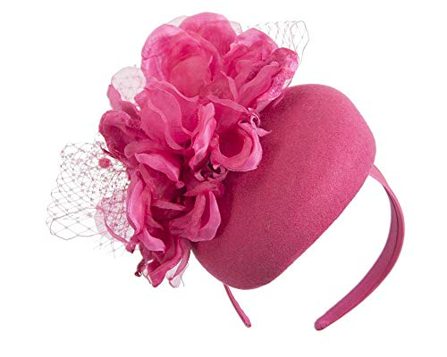 Fillies Collection Fuchsia Pillbox with Large Flower by