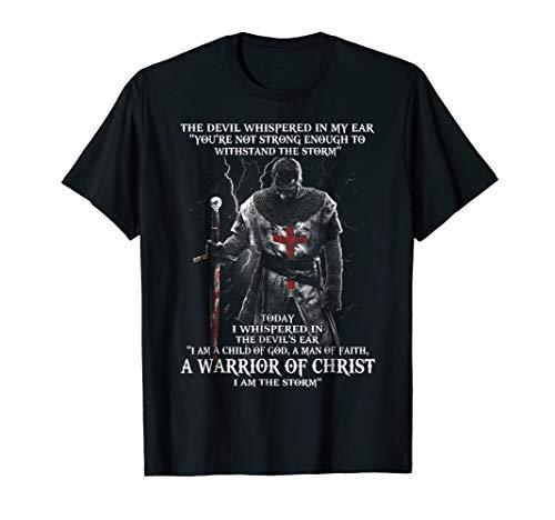 A Warrior of christ Tshirt