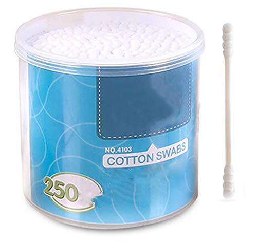Cotons-tiges de sécurité 250 pièces Coton-tige à double pointe Bâtons de nettoyage polyvalents #22