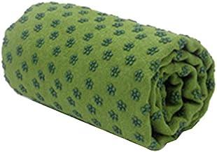 Microfiber antislip yoga handdoek mat vet Verlengde antislip yoga deken 183 * 63cm