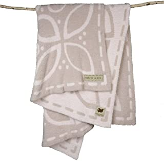Barefoot Dreams Covered in Prayer Throw - Believe in Love, Tan, Size O/S