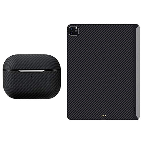 PITAKA MagEZ Case for iPad Pro 12.9 inch 2020/2018 & Airpods Pro Case Cover Bundle. for iPad Pro...