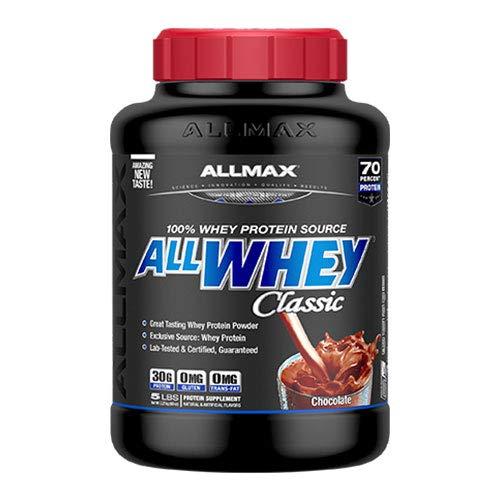 二個セット オールホエイクラシック 100%ホエイプロテイン チョコレート 5LB (2.27kg)[海外直送品]